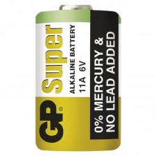 Baterie alkalická GP 11A/LR11A 6V alkalická 38mAh