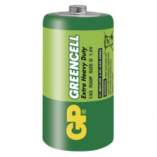 Baterie D GP R20 Greencell